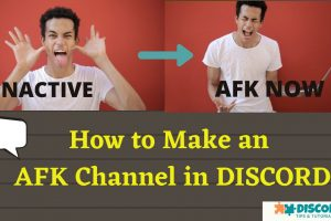 How to Make an AFK Channel in Discord (2020) – EASY STEPS