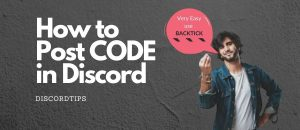 Read more about the article How to Post Code in Discord with Color (2020) – Discord TIPS