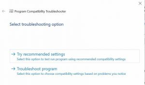 Run compatibility troubleshooter for Roblox