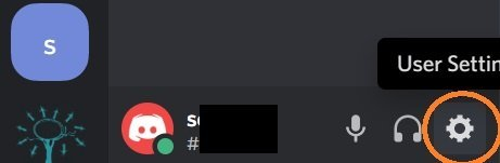 Discord settings
