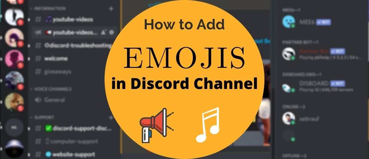 Emoji Servers Discord Easy Robux Today How To Add Emojis To Discord Channels 2020 Phone Pc