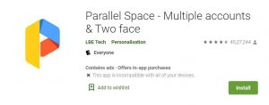 parallel space for mobile to run multiple discords