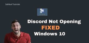 Read more about the article Discord App not Opening on Windows 10 – FIXED
