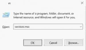 How to open services in windows 10