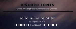 How to Change Font in Discord   Make attractive username and channel