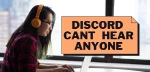 Read more about the article Discord can't hear anyone FIXED – 2021 Updated