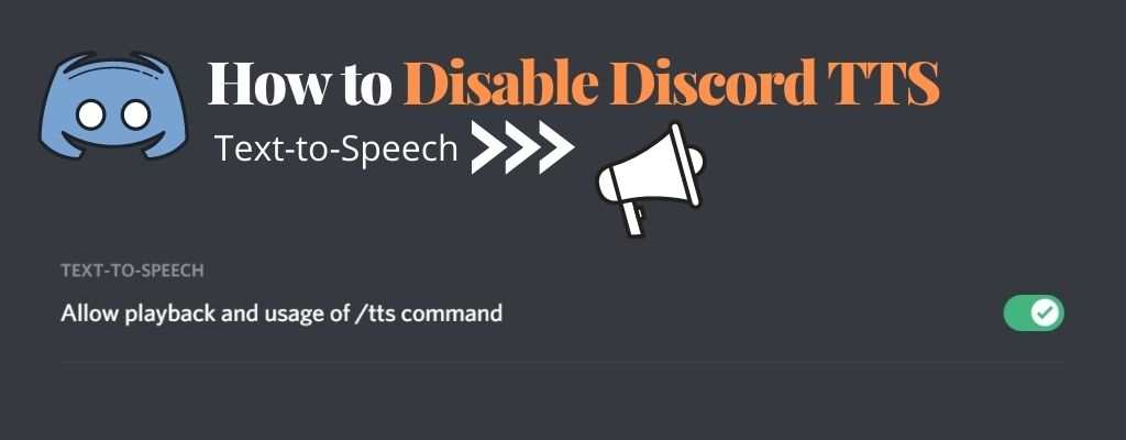 How to Turn off Text to Speech (TTS) in Discord – Discord Tips