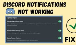 Discord Notifications not working on (Android & PC) 2021 – FIXED