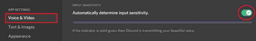 Discord not recognizing mic