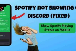 Spotify Status not Showing on Discord (Phone and PC) 2021 – FIXED