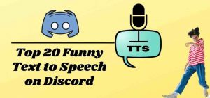 Read more about the article Best and Funny (TTS) Text to Speech in Discord – 2021