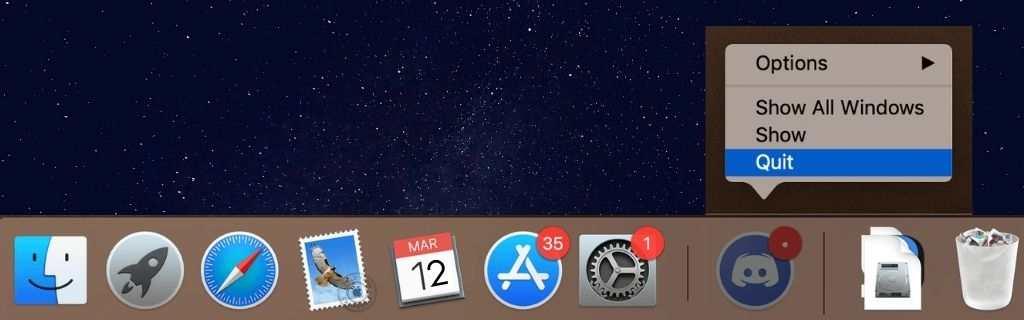How do I uninstall discord from my Mac