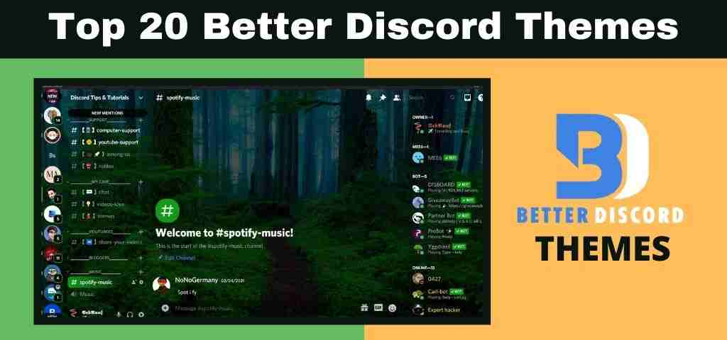 You are currently viewing Top 20 Better Discord Themes (2021) – With Support