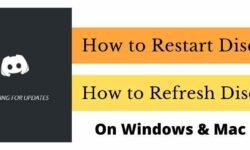 How to Restart and Refresh Discord – (2021) – Windows & Mac