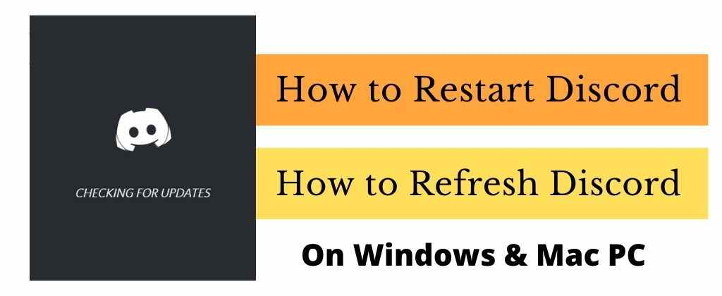 You are currently viewing How to Restart and Refresh Discord – (2021) – Windows & Mac