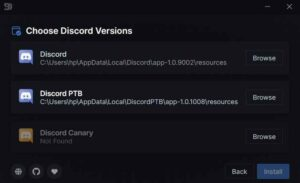 Choose Discord version for better discord