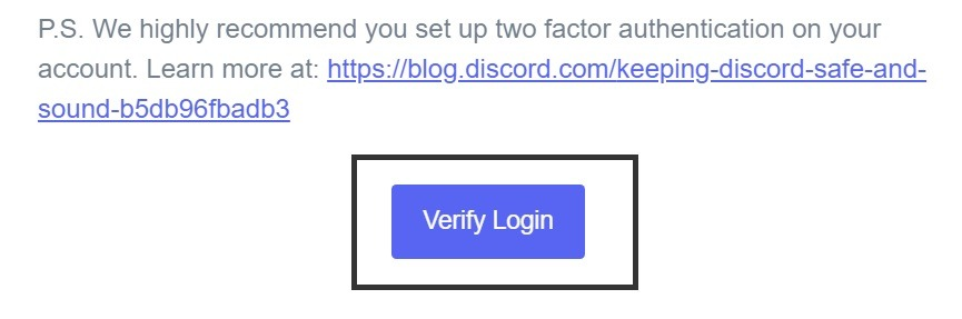 How to fix Discord new login location detected