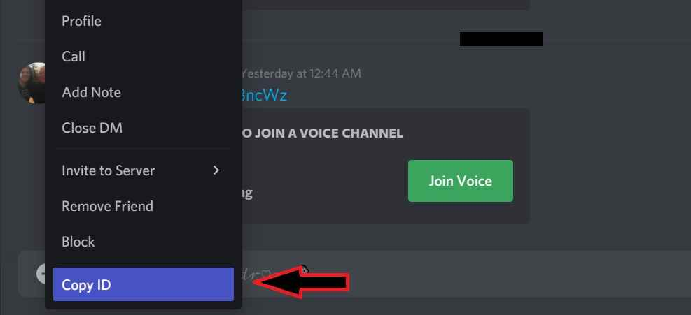 How to copy ID in Discord